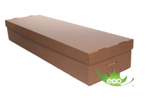cardboard casket