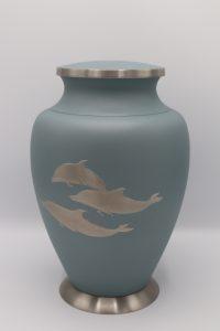 Aria Dolphin Cremation Urn