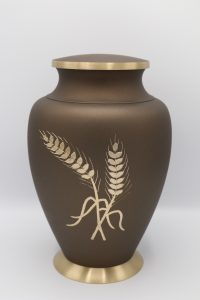 Aria Wheat Cremation Urn