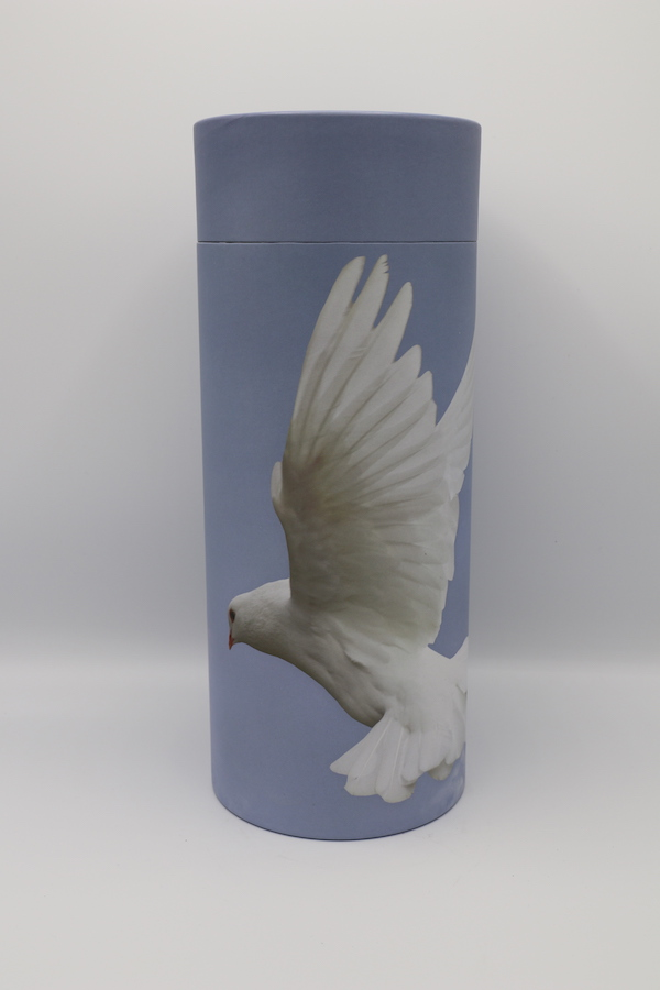 Ascending Dove – Cremation Ashes Scattering Tube