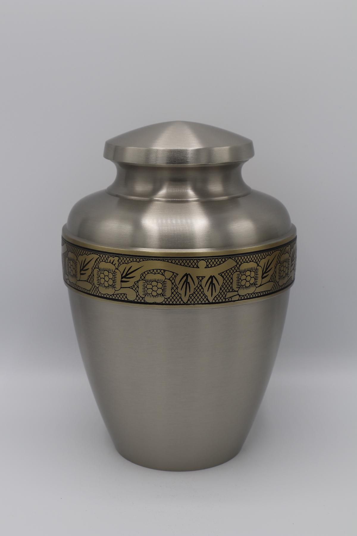 Avalon Pewter Cremation Urn