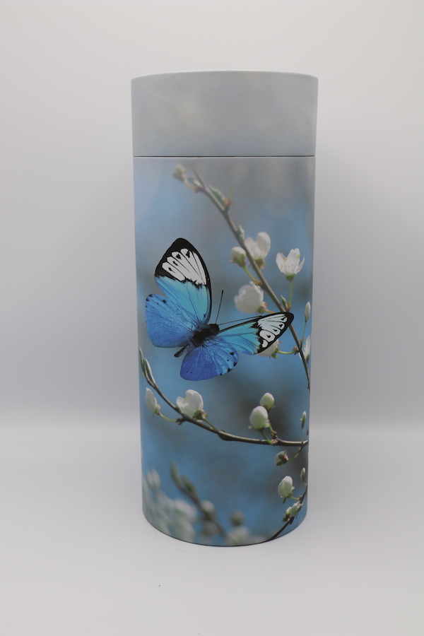 Butterfly – Cremation Ashes Scattering Tube
