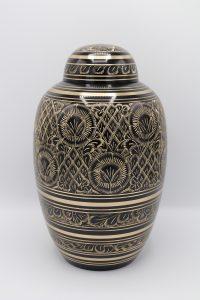 Classic Black Cremation Urn