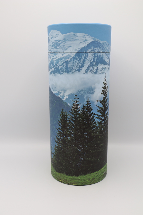 Mountains – Cremation Ashes Scattering Tube