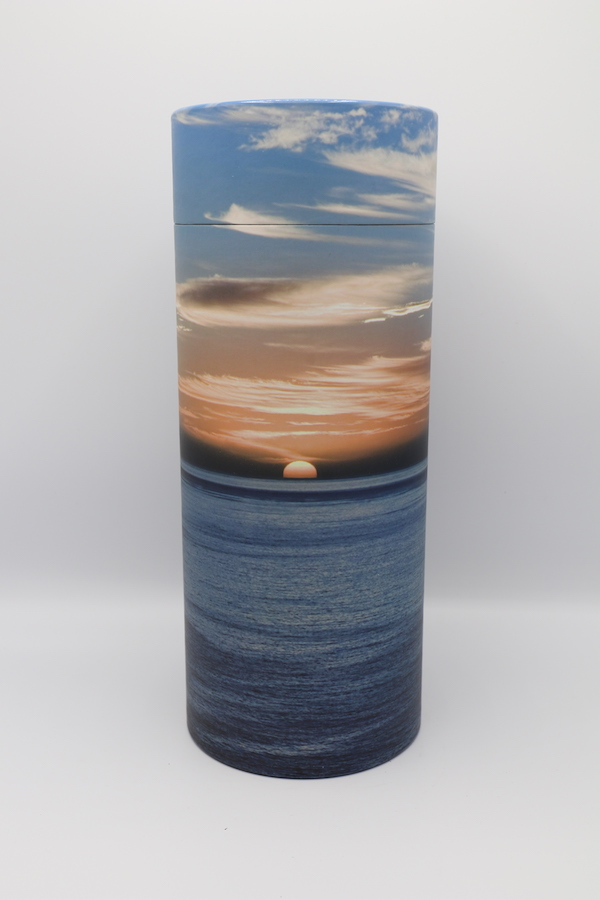 Ocean Sunset – Cremation Ashes Scattering Tube