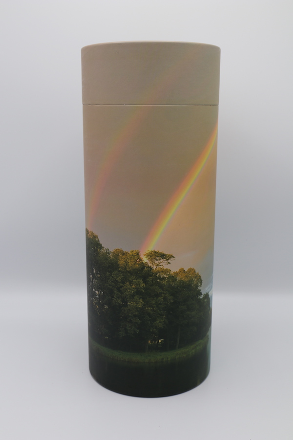 Rainbow Pond – Cremation Ashes Scattering Tube